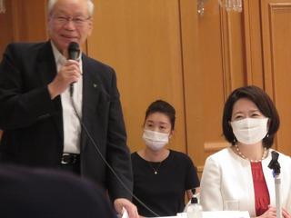 横倉名誉会長・自見はなこ議員.JPG